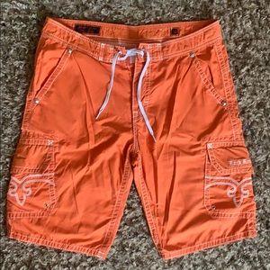 Men's cargo ROCK REVIVAL shorts size 36